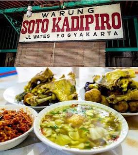 malesmegawe.com - Soto Kadipiro Asli Yogyakarta