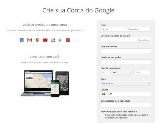 Como fazer um perfil no Google + Plus