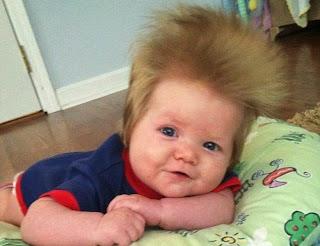 Gaya rambut anak laki-laki lucu banget