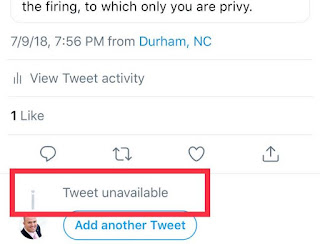 Twitter Benahi Masalah Unavailable Tweets di Lini Masanya