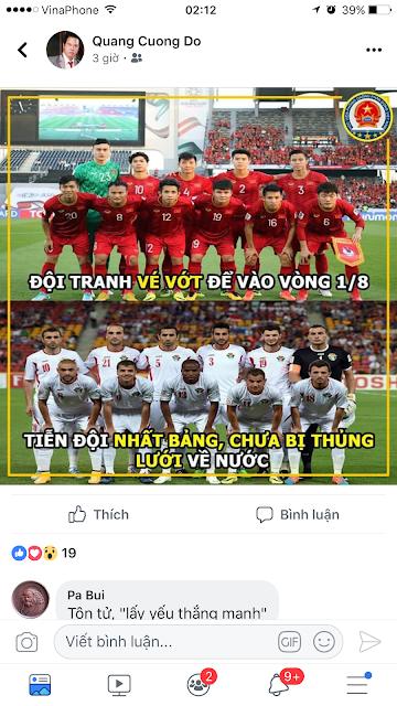 """Giới zâm chủ Việt """"buồn"""" vì Đội tuyển Bóng đá Việt Nam thắng Jordan!"""