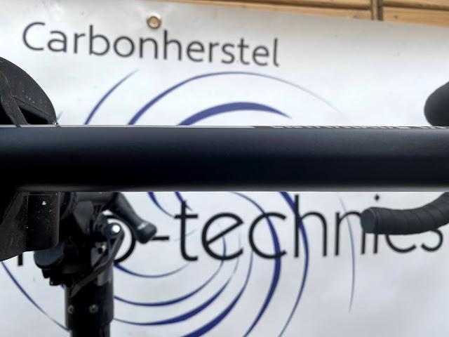Carbon schade bovenbuis onzichtbaar