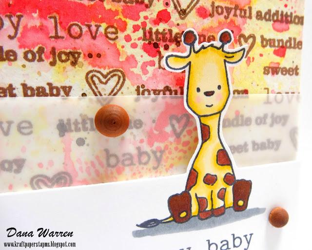 Dana Warren - Kraft Paper Stamps - Winnie & Walter