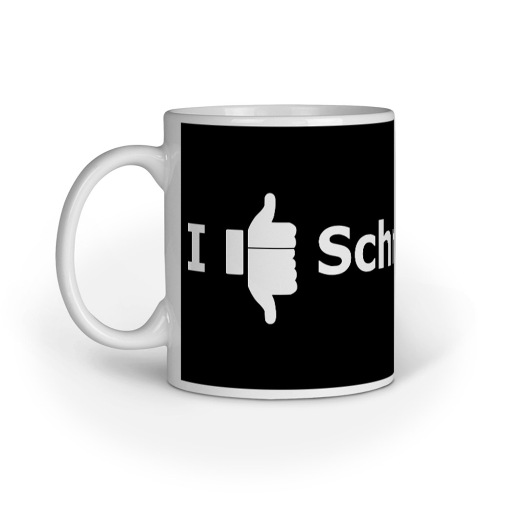 Erwin Schrödinger mug