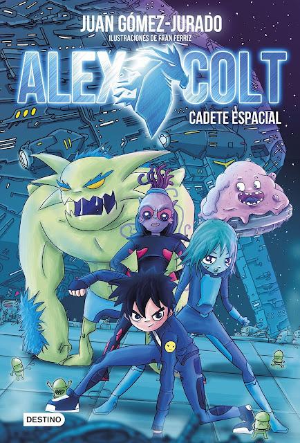 Alex Colt libro juvenil