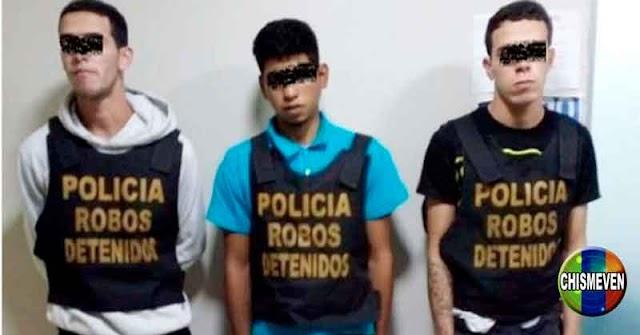 Tres venezolanos detenidos en Perú por acuchillar a una joven para robarle el celular