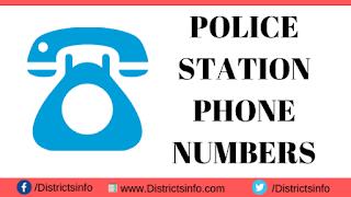 Yadadri Bhuvanagiri district Police Stations Phone Numbers