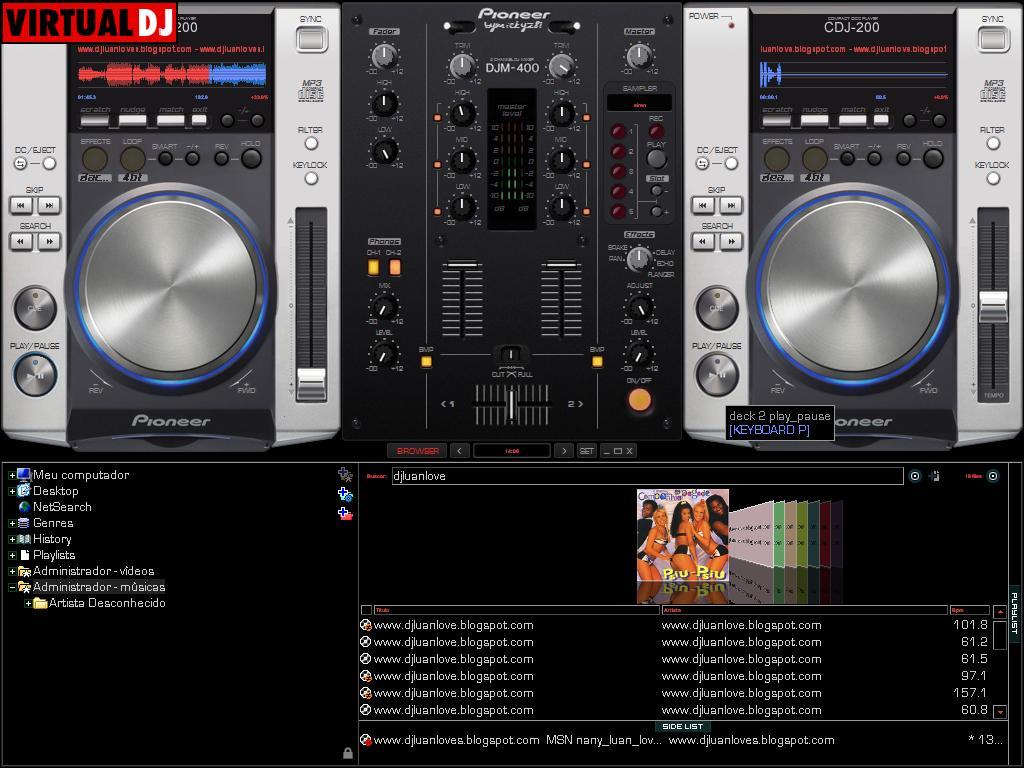 perlmentor com − mixlab virtual dj skin download free