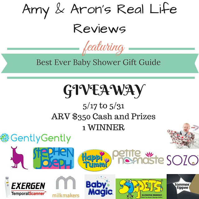 Best Ever Baby Shower Gift Guide Giveaway (open to US only)