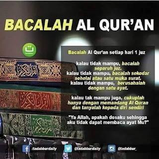 Bacalah Al Qur'an - Qoutes - Kajian Medina