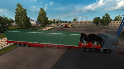 Heavy Cargo Trailer