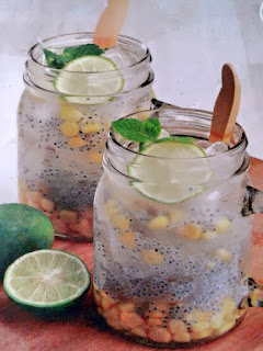 Gambar Resep Minuman Es Jagung Selasih