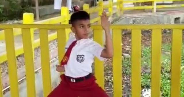 Karateka Cilik Asal Cilegon Wakili Indonesia ke Turnamen di Belgia