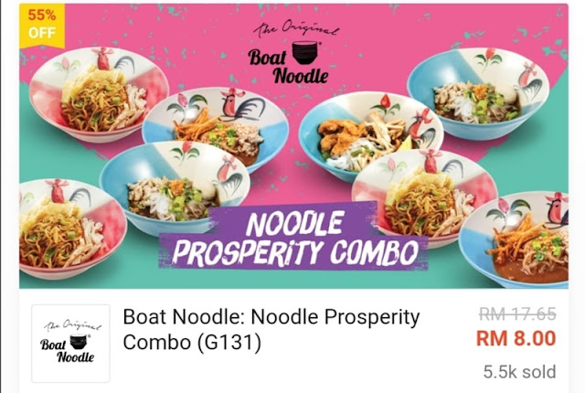 Noodle Prosperity RM8 Worth RM17.65