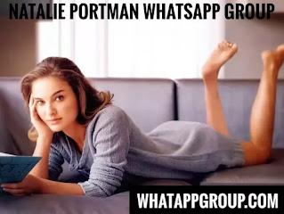 Natalie Portman Fans WhatsApp Group Links