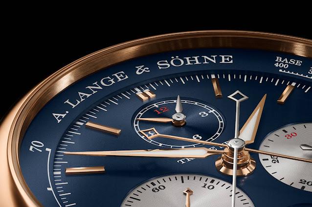 A. Lange & Sohne Triple Split Blue Dial