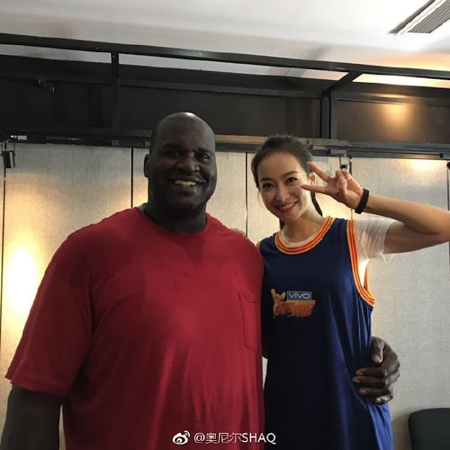 Victoria Song Shaquille O'Neil