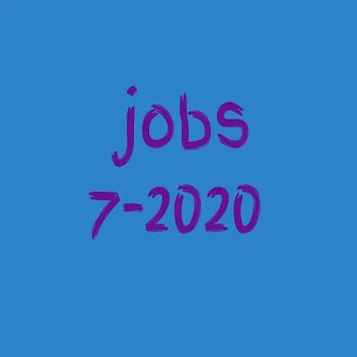 وظايف مؤهلات عليا وفوق متوسط 7-2020
