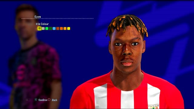 Nico Williams Face For PES 2013