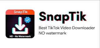 download video tik tok tanpa watermark menggunakan aplikasi snaptik