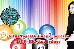 Situs Togel Online Terpercaya SGP, HK, dan Sydney