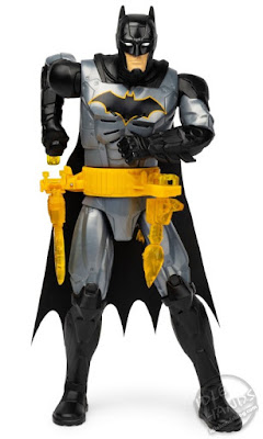 UK Toy Fair 2020 Spin Master  BATMAN 12-Inch Rapid Change Utility Belt Deluxe Action Figure with Lights and Sounds