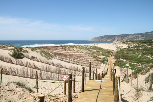 Praia do Guincho em Estoril