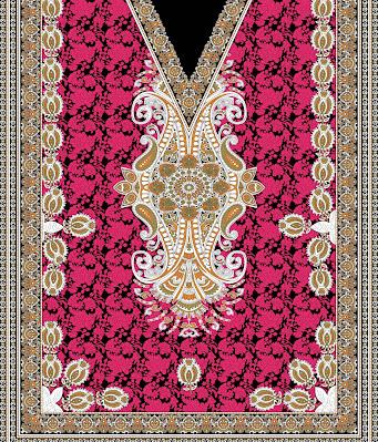 Lavanya-Geometric-Textile-Kaftan-27