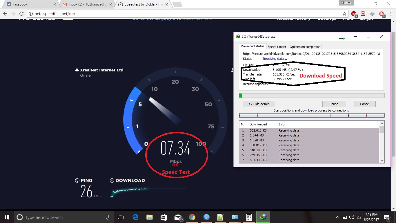 High Priority For Speed Test 8Mb Per User (speedtest net) - ISP