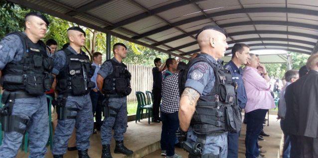Guarda Municipal de Foz do Iguaçu (PR) participa da formatura da primeira turma da GM de Cascavel (PR)