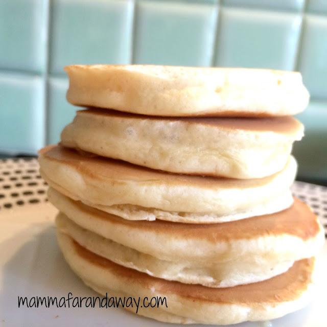ricetta pancake soffici