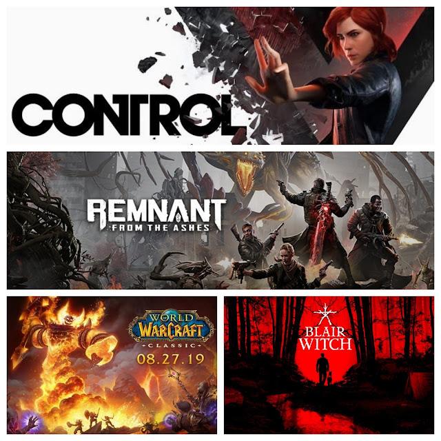 Todos los lanzamientos en video juegos en agosto del 2019 wow