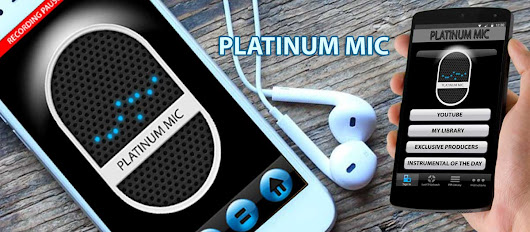 Video and Audio Download Recording and Share mobile app - Platinum Mic