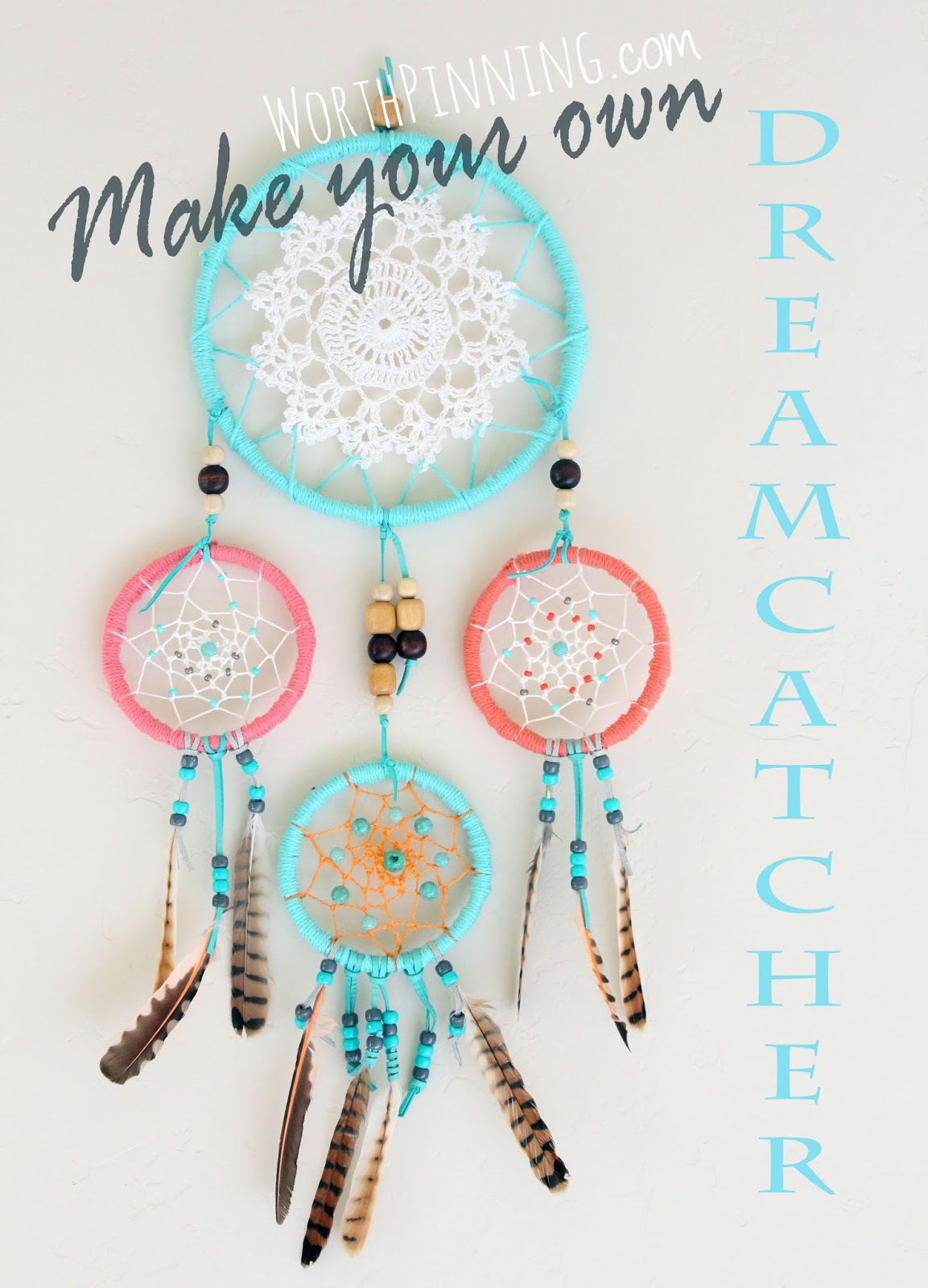 Worth pinning how to make a dreamcatcher for Dream catchers how to make them