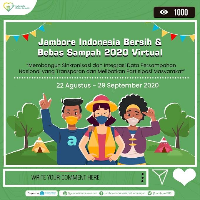Jambore Indonesia Bersih dan Bebas Sampah 2020