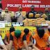 Polres Lampung Selatan Gagalkan Penyelundupan 80 Kg Ganja 36 Kg Sabu dan 2.500 pil Ekstasi