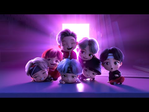 DREAM ON LYRICS - TinyTAN (BTS) ANIMATION