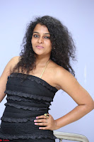 Soniya super cute in Beig Anarkali Dress at Maya Mall pre release function ~ Celebrities Exclusive Galleries 065.JPG