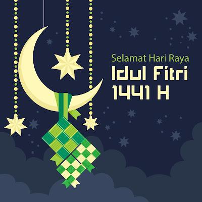 Kumpulan Gambar & Ucapan Selamat Hari Raya Idul Fitri 1441 H/2020 M Cocok Untuk Medsos