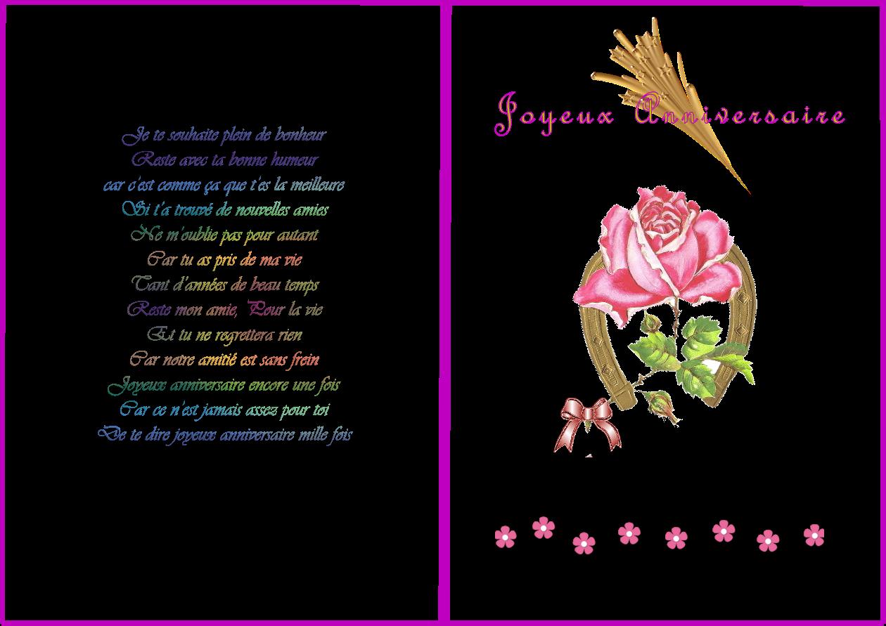 poeme anniversaire rencontre amoureuse