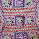 http://www.ravelry.com/patterns/library/hello-kitty-baby-blanket