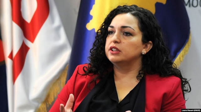 Vjosa Osmani say Serbia is ethnically cleansing the Presevo Valley