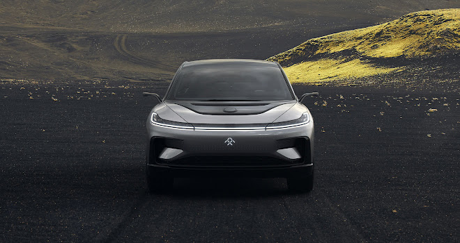 Faraday Future FF 91 front view