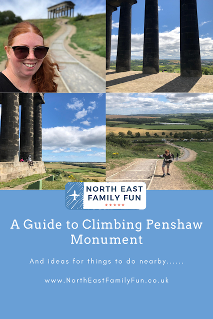 A Guide to Climbing Penshaw Monument (and what to do nearby)