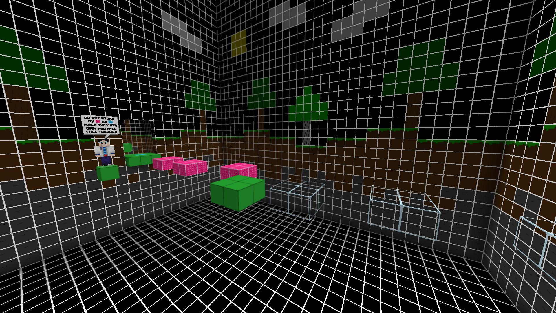Minecraft Beat Jumper map