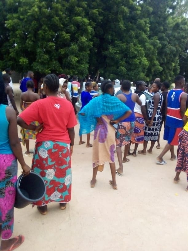 Chaos as Student of Federal College of Education (FCE), Yola Protest Unavailability of Water on Campus [PHOTOS]