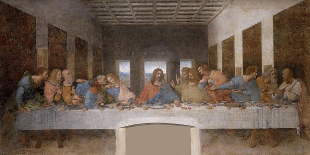 Ostatnia Wieczerza Leonardo da Vinci