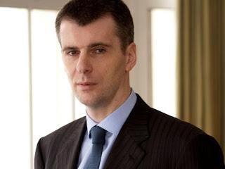 Mikhail Prokhorov (kekayaan bersih: 9,7 milyar dolar)