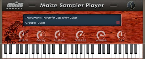 Plugin de Guitarra - Cute Emily Guitar