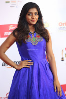 Eesha in Cute Blue Sleevelss Short Frock at Mirchi Music Awards South 2017 ~  Exclusive Celebrities Galleries 056.JPG
